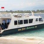 Gili Getaway , fast boat from Bali , Sanur