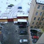 Платная парковка отеля