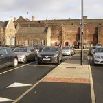 Stoke on Trent Railway Station; new carkpark between A500 and platform two