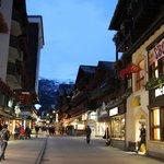 Zermatt town 10min walk from our accom