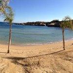 spiaggia privata del albergo
