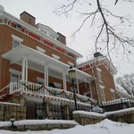 Stillman Inn Dec 31, 2012 Side View (Porch)