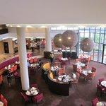 Il grande open space del ristorante