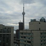CN tower from the room