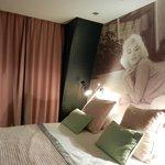 La chambre avec photo  Marilyn Monroe