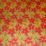 Dreadful carpet in lobby & main walkways