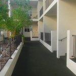 Walkway in the East Courtyard