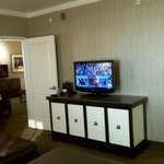 Sams Town Shreveport Magnolia Suite Living Room