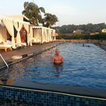 vivanta roof top pool-panjim