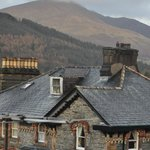 View to Skiddaw from the top room