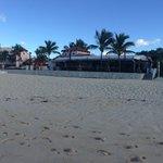 Resort from the beach