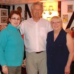 Vic and Sandy Cooper with my wife Rose (on left)