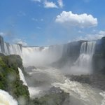 Argentinian side of waterfalls