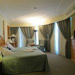 Schlafzimmer mit kleinem Salon