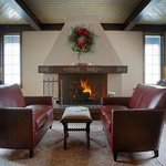Great Room fireplace seating area