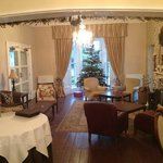 The lounge at the Horn at Christmas and New Year
