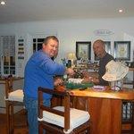 Die Bar fest in bayrischer Gästehand