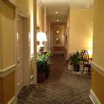 The hallway from our room on the second floor