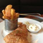 Fish & Chips at The Bucks Head