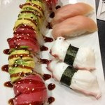 Delicious sushi from Sushi Saga.