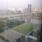 View of river & hotel grounds from my hotel room
