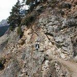 Meraner Höhenweg  Looking Toward Val Venosta.