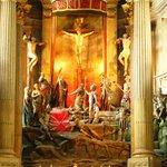 Altar da Igreja de Bom Jesus do Monte - Braga, Portugal