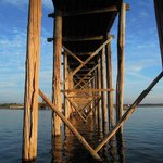 Under the U Bein bridge