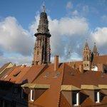 Il campanile della Cattedrale (vista dal camera)