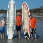 Surfing on Playa Carillo
