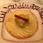 tarte fine aux pommes cannelle