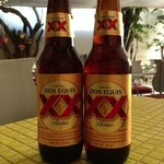 Ask about specials - two for one Dos Equis on this occasion.