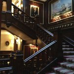 The grand staircase..