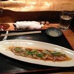 mackerel Carpaccio. awesome