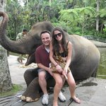 Photo with our elephant