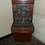 Antique Switchboard used in the Grey Stone hotel