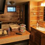 Wilderness Suite's sink area
