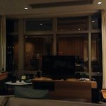 morrison suite at night, can see HongKong as well