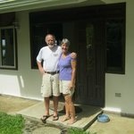 Bea and Wyn - the most lovely hosts