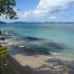 Hotel's own beach