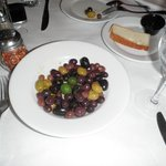 Olive appetizer ($8.00)