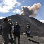 Explosion of Volcan de Pacaya on Dec 28, 2012
