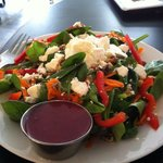 Green Goat Salad With Cafe Made Berry Dressing