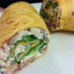 Hawiian Chicken Luau Wrap Special