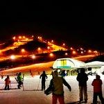 Night skiing!!