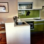 The well-equipped kitchenette! Cooked breakfast daily ;)