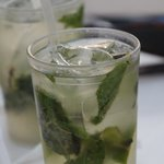 Excellent Mojitos at the pool