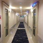 Well-lited corridor