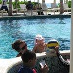 Poolside fun!