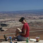 Relaxing in Moab